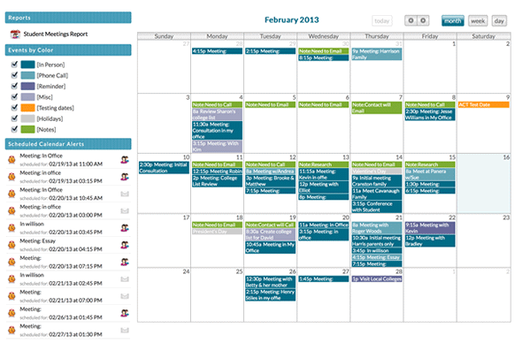 Calendar and Alerts